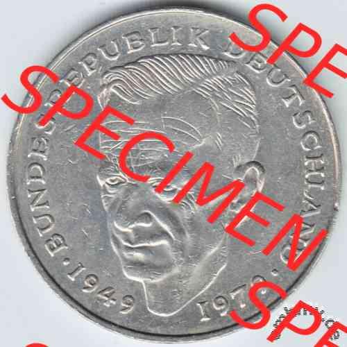 Embmv 2 Dm Münze Deutschland Kurt Schumacher